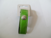 PVC cuff strap with press stud fastening in bright colours (Code 0052)